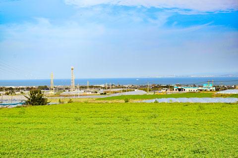 有明地区から見る有明海