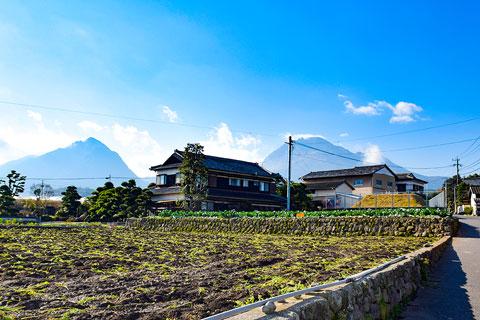 三会地区 石積みの畑(小)