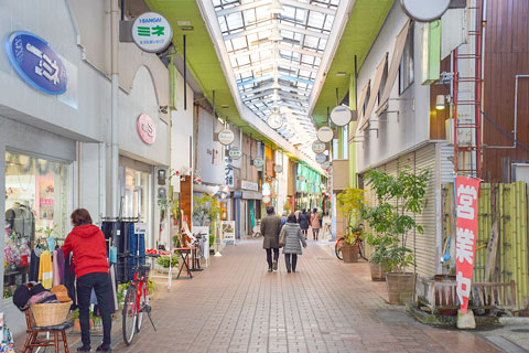 霊丘地区商店街