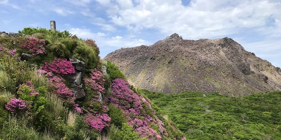 移住した島原で登山を満喫